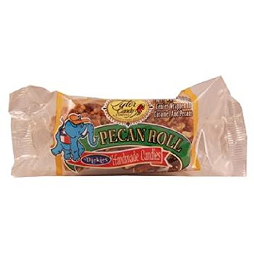 DICKIES PECAN LOG ROLL - Small 2 oz Each ( 12 in a Pack )