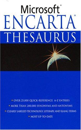 Microsoft Encarta Thesaurus