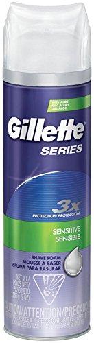 Gillette Series Sensitive Skin Shave Foam - 9 oz