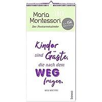 Maria Montessori - Der Postkartenkalender
