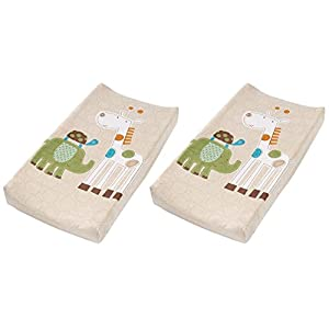 Summer Infant Changing Pad Cover – Safari (2 Count)
