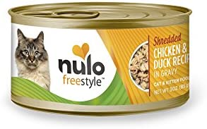 Nulo Adult & Kitten Grain Free Canned Wet Cat Food - 3 oz, Case of 12 or 24 2