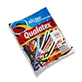 Qualatex 260Q Traditional Assortment Biodegradable Latex Balloons 100-Units (1-Pack)