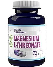 Magnesium L-Threonate 2000mg per portion 120 veganska kapslar, ren, inga fyllmedel