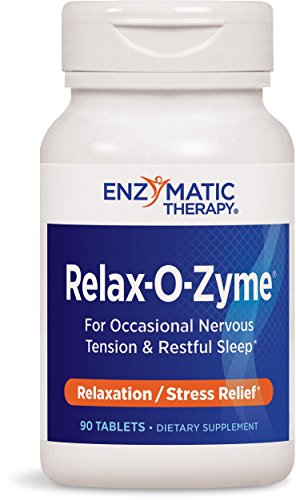 Enzymatic Therapy Relax-O-Zyme Tablets, 90 Count All Zyme 90 Tablets