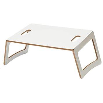 Bseack_Store Wall Table Moderna Simplicidad Escritorio de Ordenador portátil/Mesa Perezosa Plegable portátil Luz y