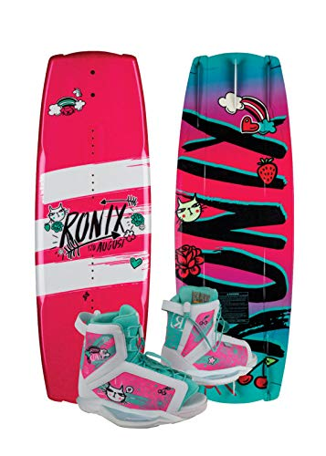 Ronix 120 - August Wakeboard Kid's Package w/August Boots - 2-6 (2019) by Ronix