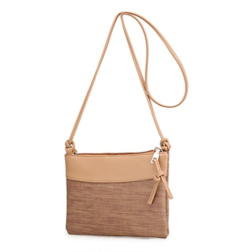 Purses Crossbody Shoulder Bag Stylish Retro Design Bags Women in CieKen for Khaki 1pqUZwxn5n