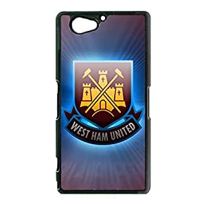 Sony Xperia Z2 Compact Z2 Mini Case Fantasy West Ham United FC Phone Case Cover For Sony Xperia Z2 Compact Z2 Mini Retro Style West Ham United Football Case