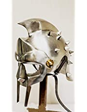Gladiator Maximus - Casco + forro y correa para la barbilla (soporte de pantalla)