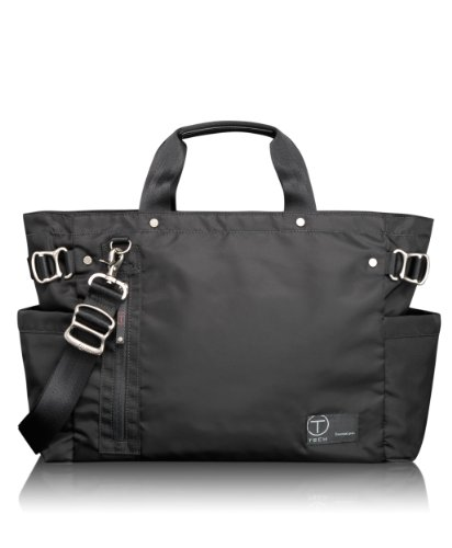 Tumi Luggage T-Tech By Tumi Icon Wilson Tote, Black, Small, Bags Central