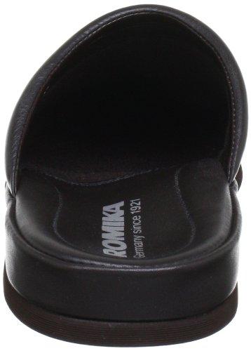 Romika Carlo 01 75101 - Zapatillas de casa de cuero para hombre Marrón