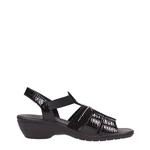 ENVAL - Sandalias de vestir para mujer negro