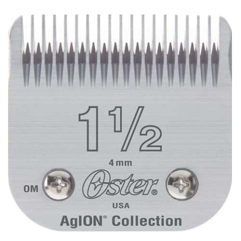 Oster Agion Hair Clipper Blade- Size 1.5- For Classic 76, Star-Teq, Power-Teq & Power Line Clippers Oster Professional NAS-B0012JJMWA