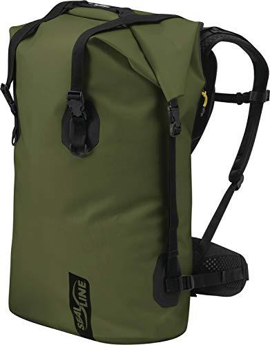 SealLine Boundary Waterproof Dry Pack, Olive, 115-Liter
