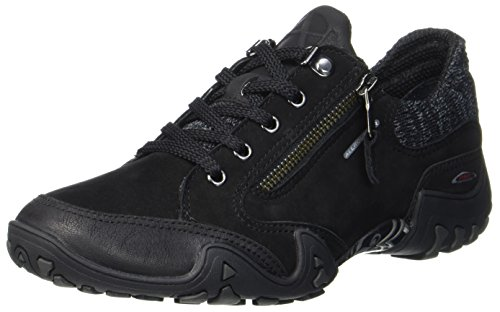 Women's Black Shoes Black Running buk 1 G nubuk T 1 Mephisto Fanita dXBqFF