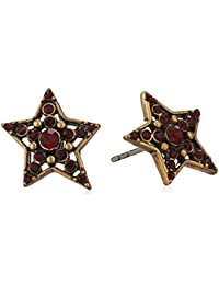 """Marc Jacobs""""Fall 2016"""" Pave Star Silver Stud Earrings"""