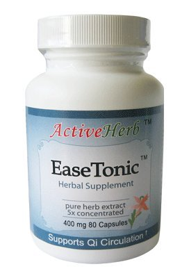 ActiveHerb EaseTonic Herbal Supplement | 80 Capsules ()