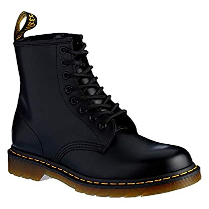 Womens Dr Martens 1460's Black Leather Ankle Boots SIZE 5 1