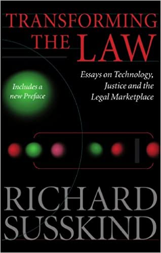 com transforming the law essays on technology justice  transforming the law essays on technology justice and the legal marketplace 1st edition