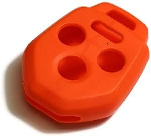 Amazon Com Orange Silicone Key Fob Cover Case Smart