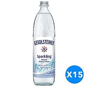 Gerolsteiner Sparkling MIneral Water - 750ml (Pack of 15)