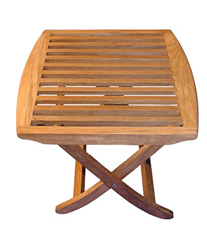 Teak End Table or Footstool Salisbury