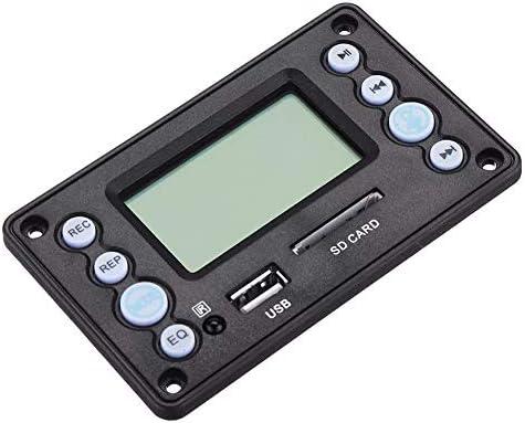 ZT-TTHG フル機能は、出力ボリュームアンプボード4.2 DC5Vバッテリー12V 2チャンネルオーディオデコーダボード録音ラジオ歌詞表示APE、FLAC WMA WAV MP3スポットSteuermodulを調整BluetoothCan