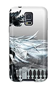 Tpu Shockproof/dirt-proof Dark Anime Cover Case For Galaxy(s5)