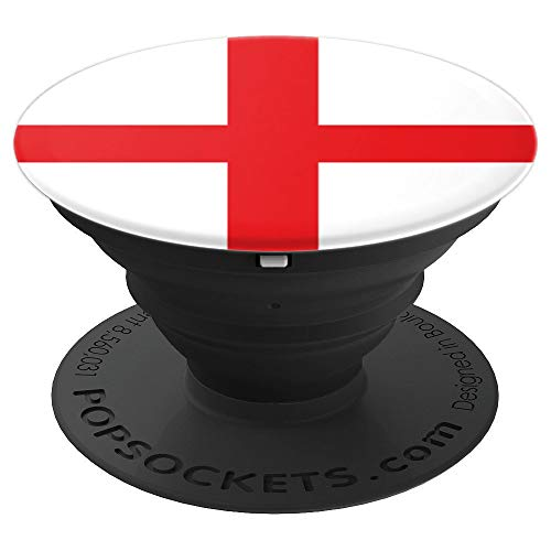 English England St. George's Cross Flag - PopSockets Grip and Stand for Phones and Tablets ()