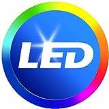 Philips 461129 60 Watt Equivalent Soft White A19 LED Light Bulb, 16-Pack