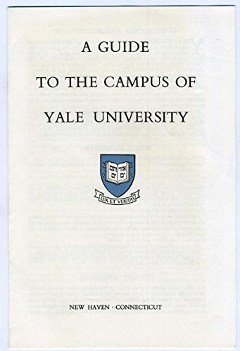 Amazon.com : A Guide to the Campus of Yale University June 1958 New on yale campus map west haven, stamford campus map, walking at hospital map, yale google maps, williams college campus map, yale medical school, streets of new haven map, mayo clinic campus map, england new haven map, stanford campus map, sterling college campus map, university of connecticut map, new haven connecticut map, new haven on a map, yale college,