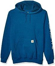 Carhartt Men's Midweight Sleeve Logo Hooded Sweats