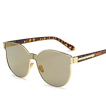 LXKMTYJ Mode Sonnenbrille Frauen Persönlichkeit Trend Gläser bHc76Bww