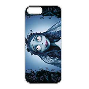 Custom Personalized Corpse Bride Back Cover Case TPU for iphone5,5S JN5S-882