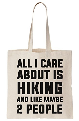 Care People And All I Canvas Is Like Maybe Bag Hiking Tote 2 About 5qgOa