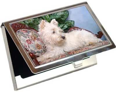 West Highland White Terrier Business Card / Credit Card Case