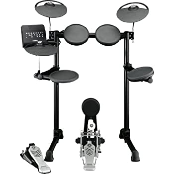 Amazon Com Yamaha Dtx400k Compact Electronic Drum Set Musical