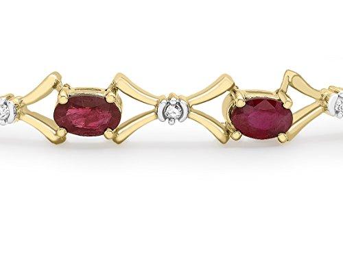 Carissima Gold - Bracelet - 1.24.1451 - Femme - Or Jaune 375/1000 (9 Cts) 0.41 Gr