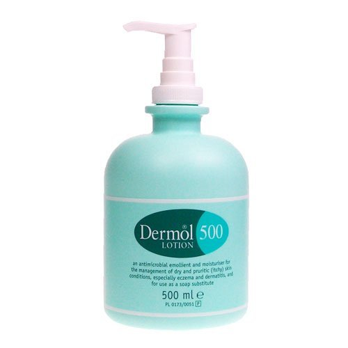 Ml 500 Lotion (Dermol 500 Moisturising Lotion for Dry Itchy Skin Conditions & for Use As a Soap Substitute 500ml)