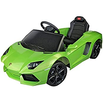 Lamborghini Electric Car For Kids >> Amazon Com Lamborghini Aventador Kids 6v Electric Battery Powered