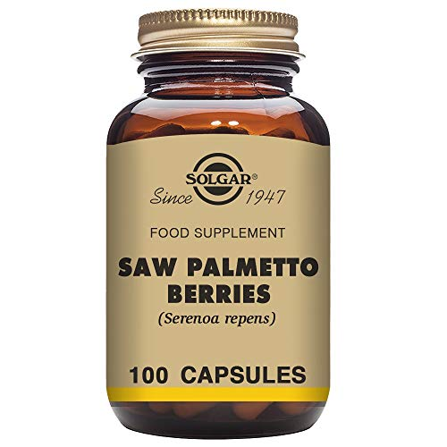 Solgar – Full Potency Saw Palmetto Berries, 100 Vegetable Capsules