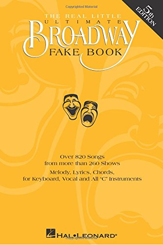 Books On Acting in Amazon Store - The Real Little Ultimate Broadway Fake Book