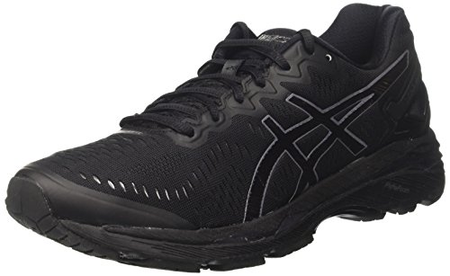 Asics Gel Kayano 23, Zapatillas de Running para Asfalto para Mujer Negro (Black/onyx/white)