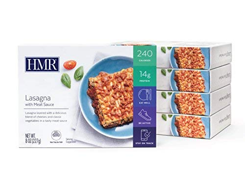 HMR Lasagna with Meat Sauce Entree, 8 oz. Servings, 5 Count