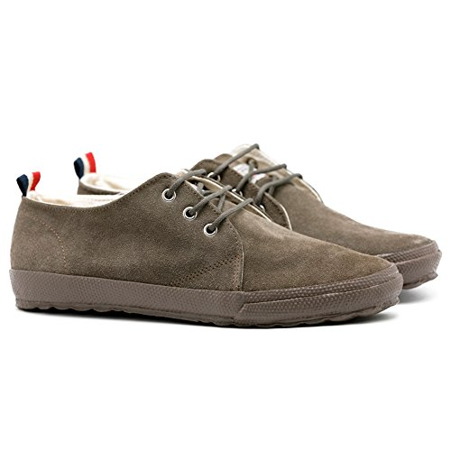 Top El Waking Ganso Sneaker Herren Schuhe Wildleder und Vison Textil Low und Suede Urban Berliner Match zz0Frw