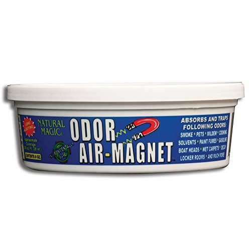 - Gonzo Natural Magic Odor 4031A Air-Magnet with Activated Charcoal, 8 oz