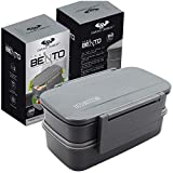 Lunch Box For Women Bento Lunch Box Container 5.5 Cup Capacity Snack Container and Utensils
