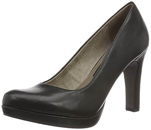 WoMen Closed Pumps Tamaris 020 Matt Toe 22426 Black Black HUnx7dz
