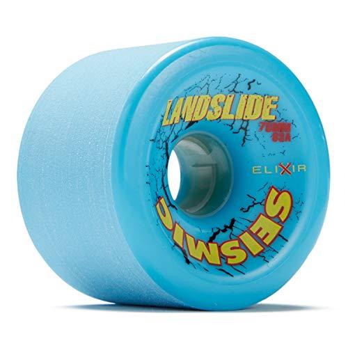Seismic Landslide Longboard Wheels - 75mm 83a Opaque Blue (Seismic Trucks)